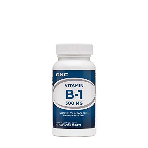 GNC Vitamin B1 300 MG 100 Vegetarian Tablets