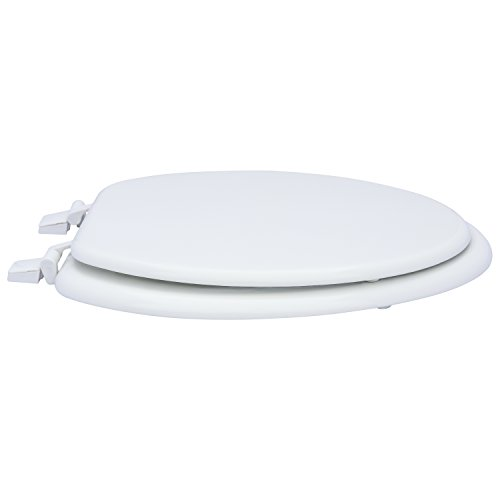 Karlson KS1242-1901-WH Standard Molded Wood Elongated Toilet Seat White by Karlson (Image #9)