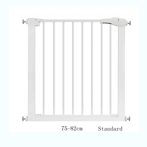 - 1229 GAIXIA Child Safety Door Pet Fence Protective Isolation Door Heightening Encryption Free Punching (Size : Standard)