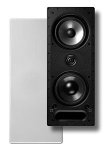 Polk Audio 265-LS White Rectangular High Performance In-Wall Speaker by Polk audio