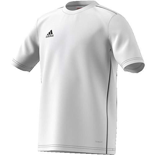 2483973-adidas-Core18-JSY-Y-Maglietta-da-Calcio-Unisex-Bambini-Bianco-White-B