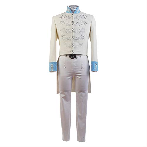 SIDNOR Men's Cinderella Prince Charming Outfit Cosplay Costume]()