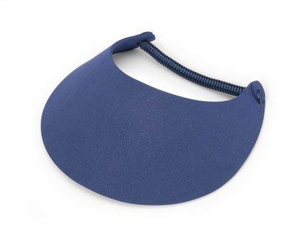 Darice Navy Blue Foamies Visor with Vinyl Coil, 8.75
