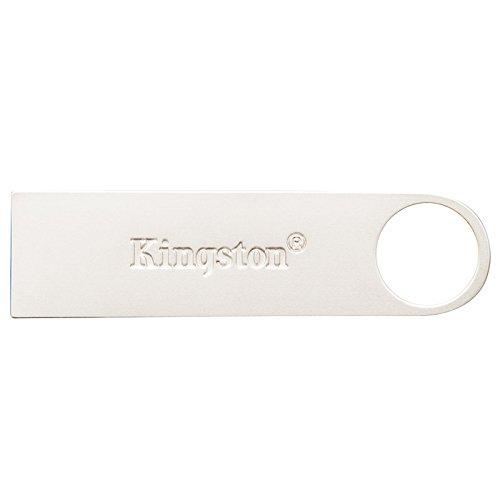 Kingston DataTraveler SE9 G2 - Memoria USB de 64 GB, color plateado por solo 17,65€