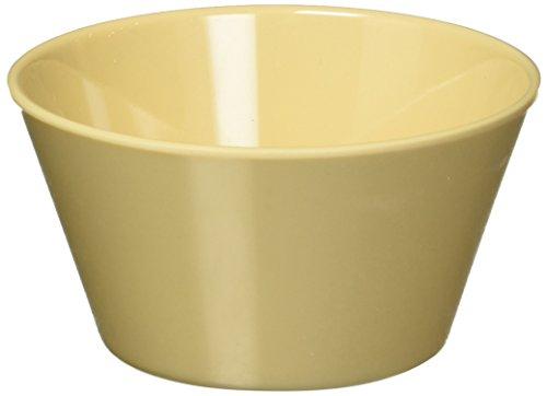 Winco MMB-8 Melamine Bouillon Cup, 8-Ounce, Tan