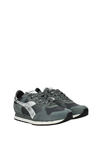 20117257401 Donne Camoscio Grigio Uk Heritage Diadora Sneakers Trident xqgOOw