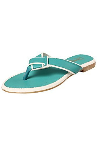 Jade Women's Casual Flat Fashion Sandals JDB025-Mint-38
