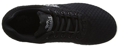 Lonsdale Tydro, Zapatillas de Running Mujer Negro (Black/White)
