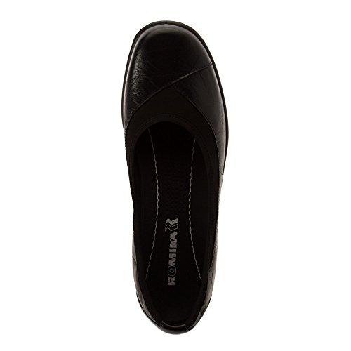 Romika Donna, Cassie 21 Slip On Shoe Nero Tropico