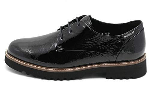 Chaussures Femme de pour Ville Lacets Noir Mephisto à dOYPZRdq