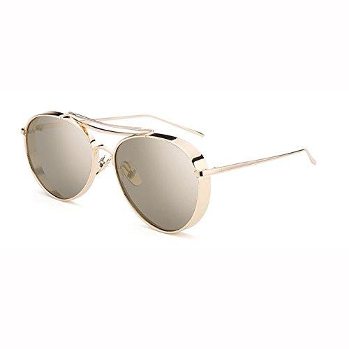 Película Cara Hembra Gafas 5 WX Personalidad 4 Retro Redonda De De Amantes xin Color Sol Color Gafas nIXn5BvR