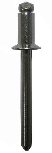 AK54BS ALUMINUM BLIND RIVET WITH STEEL MANDREL, COUNTERSUNK HEAD, 5/32 x .188-.250 GRIP (Pack of 500)