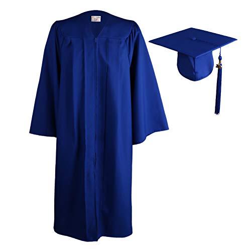 OSBO GradSeason Unisex Matte Adult Graduation Gown Cap Tasse