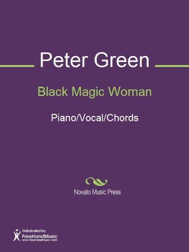 Black Magic Woman Sheet Music Pianovocalchords Kindle Edition