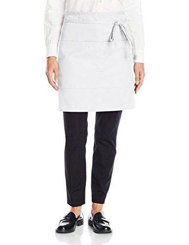 Uncommon Threads Unisex  Half Waist Apron, White, One ()