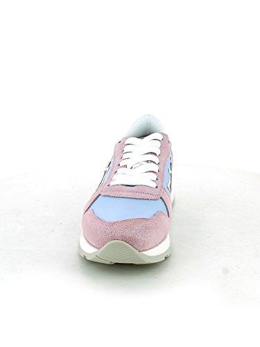 Atlantic Azzurro 37 e Rosa Stars Gemma Glitter Sneaker rqrSFv