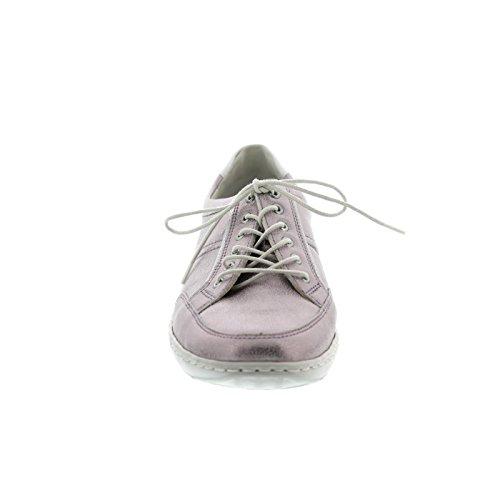 Waldläufer Henni, Pro-Aktiv Fussbett, Bufa/Memphis, rose/weiss, Weite H 496013-210-202 Pink