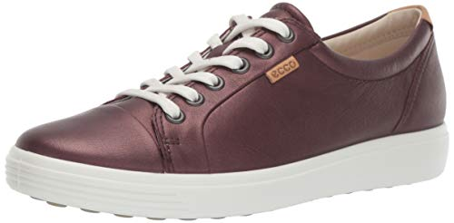(ECCO Women's Soft 7 Sneaker, fig Metallic, 35 M EU (4-4.5 US))