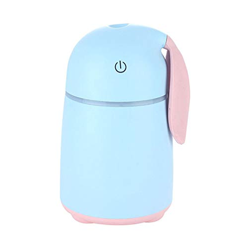 170ML Car Aroma Diffuser USB Essential Oil Air Humidifier Aromatherapy Humidifiers Diffusers for Home,Blue