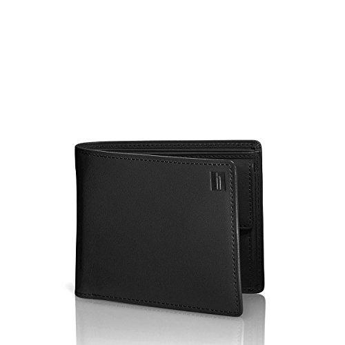 Hartmann Belting Medium Leather Wallet w/Coin Pocket in Heritage Black -