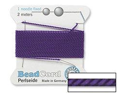 Griffin Nylon Bead Cord Beading - Griffin Bead Cord Nylon Amethyst #8