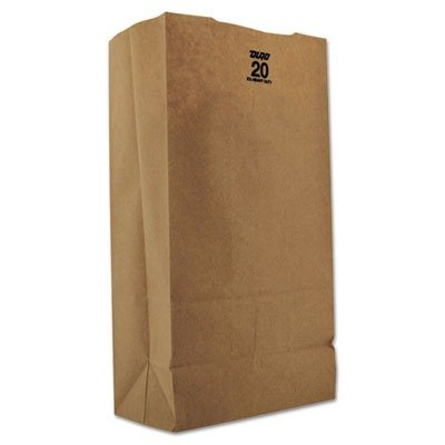 BAGGX2060   Duro Paper Bag GX2060 20# Natural Paper Grocery Bags, Tall,  Extra