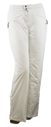White Sierra Women's 31-Inch Inseam Slider Pant, Cloud, Large Slider Snowboard Pants