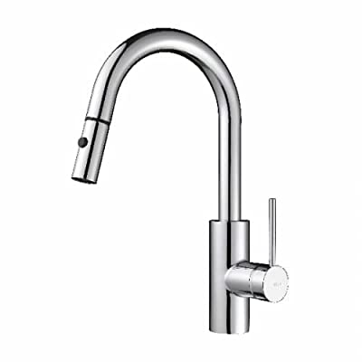 Kraus Modern Mateo Single Lever Pull Down Kitchen Faucet from Kraus