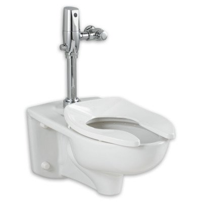 American Standard 3351.101.020 Afwall Millennium Elongated Flushometer Toilet Bowl by American Standard