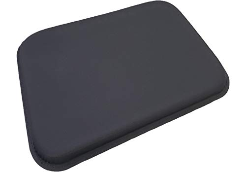 ULTRAGEL ANYWHERE, ANYTIME Arm/ Wrist Rest Personal Comfort Gel Pads-SG (6.5x8.5, Black/Non-Slip)