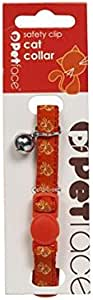 Petface Red with Bell and Safety Elastic Cat Collar