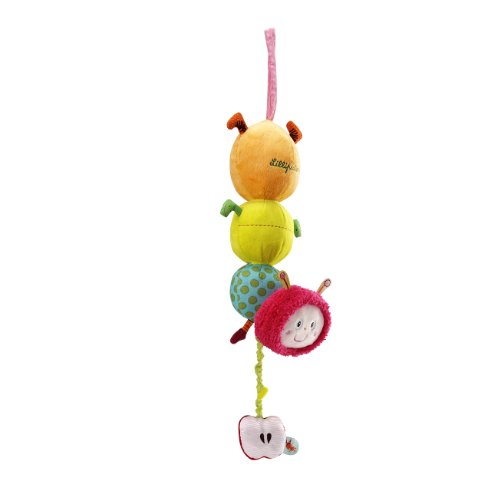 Lillputiens Juliette The Caterpillar Musical Cuddle Bedtime Toy