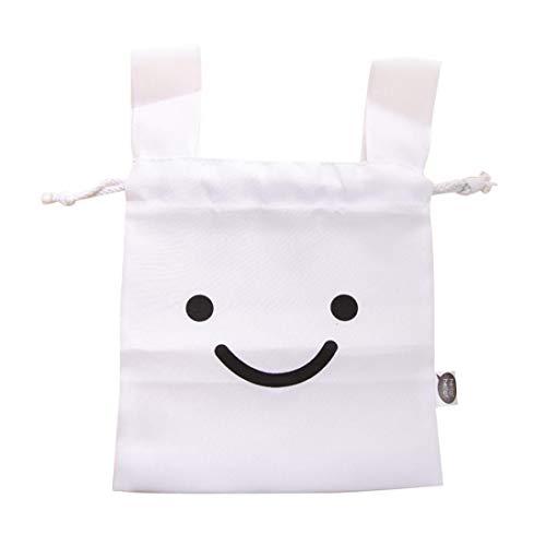 abbit Makeup Lunch Travel Storage Bag Pouch Pen Pencil Pocket Cosmetic Case (White) ()