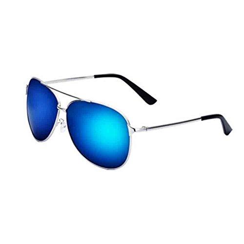 Color blue Glasses Sol Honey Película Gafas HD Color Calidad De Silver Green Unisex Sunny De Pareja Yellow Gold Driving Polarizadas De Alta ice vB6axdqfn