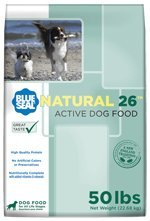 Blue Seal Natural 26 Active Dry Dog Food 50 ()