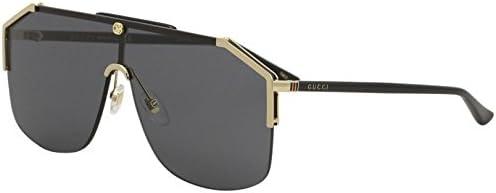 077003eb Gucci gg0291s 100% Authentic Men's Sunglasses Gold 001: Amazon.com