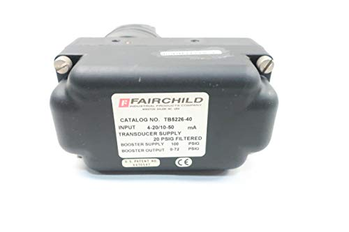 FAIRCHILD TB5226-40 Electro-Pneumatic TRANSDUCER 4-20MA 100PSI D633274