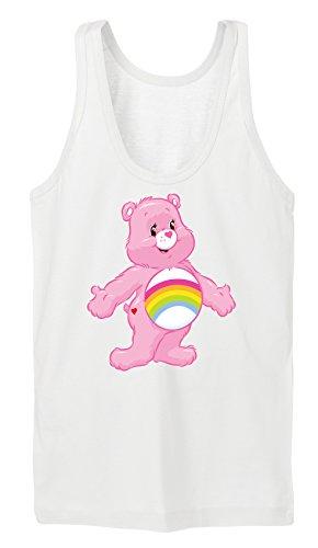 Old Rainbow Bear Tanktop Girls Blanco Certified Freak