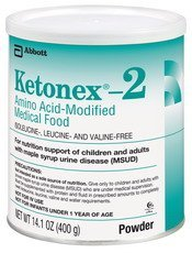 Ketonex-2 Amino Acid-Modified Medical Food Powder 14.1-Oz (400-G) Can - 1 Each by Abbot