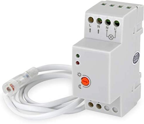 Aufputz Mini exterior Sensor Crepuscular 230 V IP65 3000 W – para ...