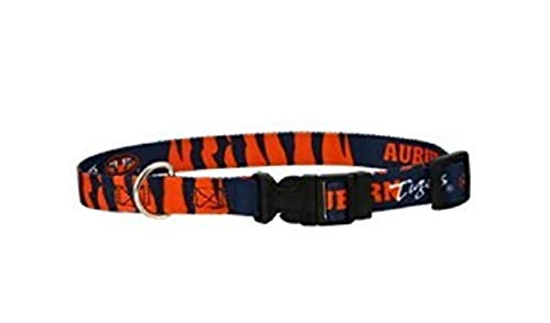 NCAA Hunter MFG Auburn Tigers Dog Collar, Large
