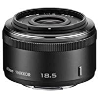 Nikon 1 NIKKOR 18.5mm f/1.8, Black (Certified Refurbished)