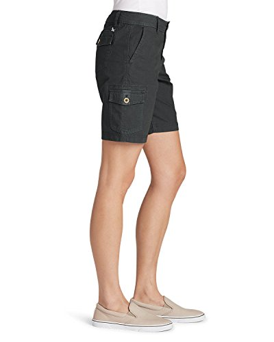 Eddie Bauer Women's Adventurer Stretch Ripstop Cargo Shorts - Slightly Curvy, S by Eddie Bauer (Image #1)