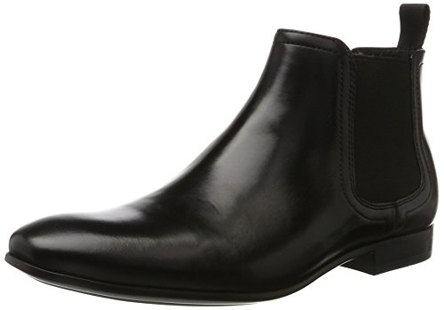 Kenneth Cole Men Design 10055 Chelsea Boots, Medium Black