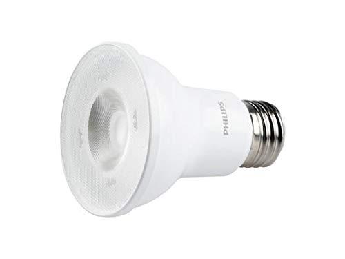 Philips LED Single Optic Dimmable PAR20 25-Degree Spot Light Bulb: 480-Lumen, 2700-Kelvin, 6-Watt (50-Watt Equivalent), E26 Base, Soft White, 6-Pack (Philips Par20 Led)
