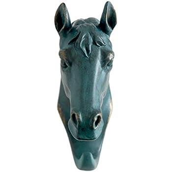 Amazon.com: Comfy Hour Hierro Fundido Running Horse único ...