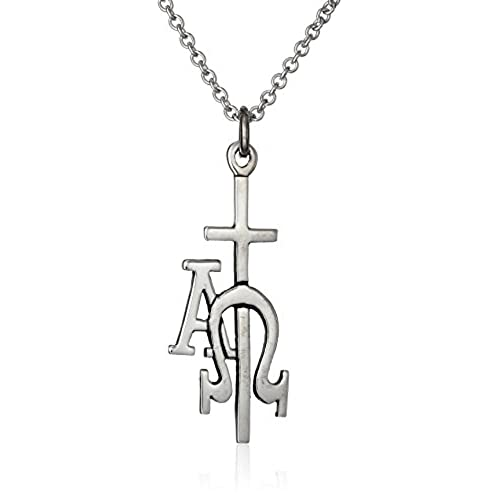 Alpha Omega Necklace Amazon
