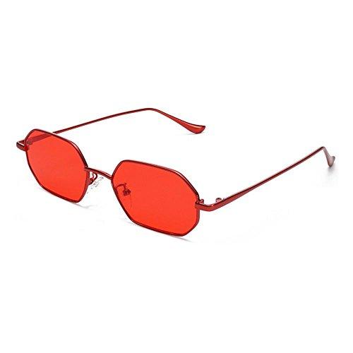 Film Rouge tendance Lunettes Film Ocean CHshop Boîte soleil Rouge de xZtw0