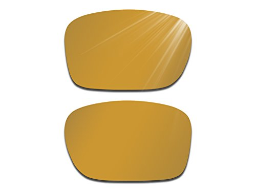 Glintbay Harden Coated Replacement Lenses for Oakley Holbrook Sunglasses - Polarized Bronze Gold - Bronze Holbrook Polarized
