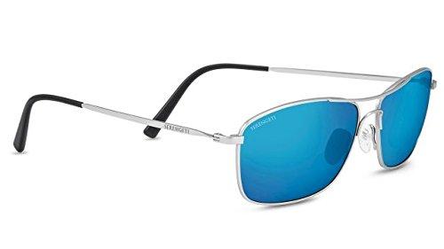 Serengeti 8418-Corleone Corleone Glasses, Shiny Titanium